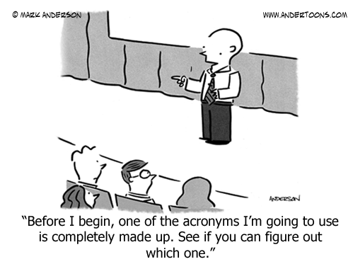 acronym cartoon